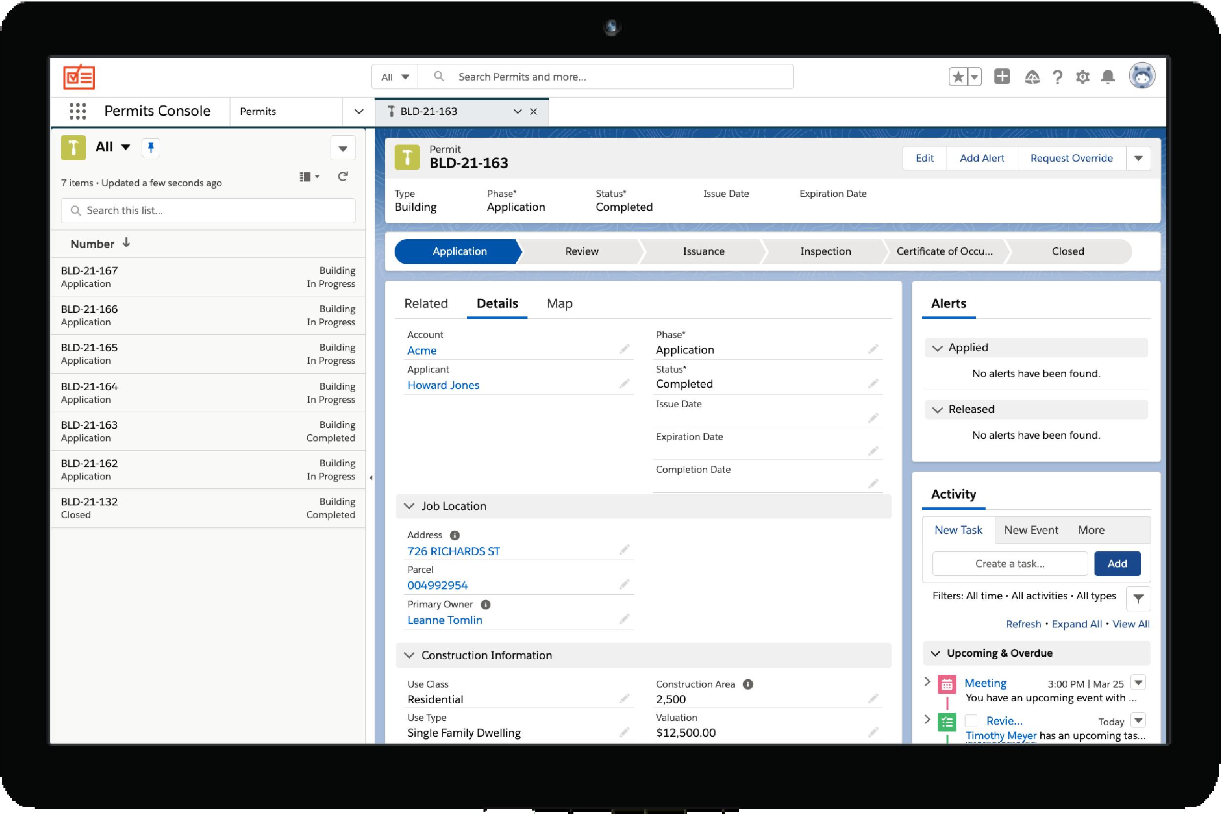 Clariti Government Building Permit Solution Workflow Management