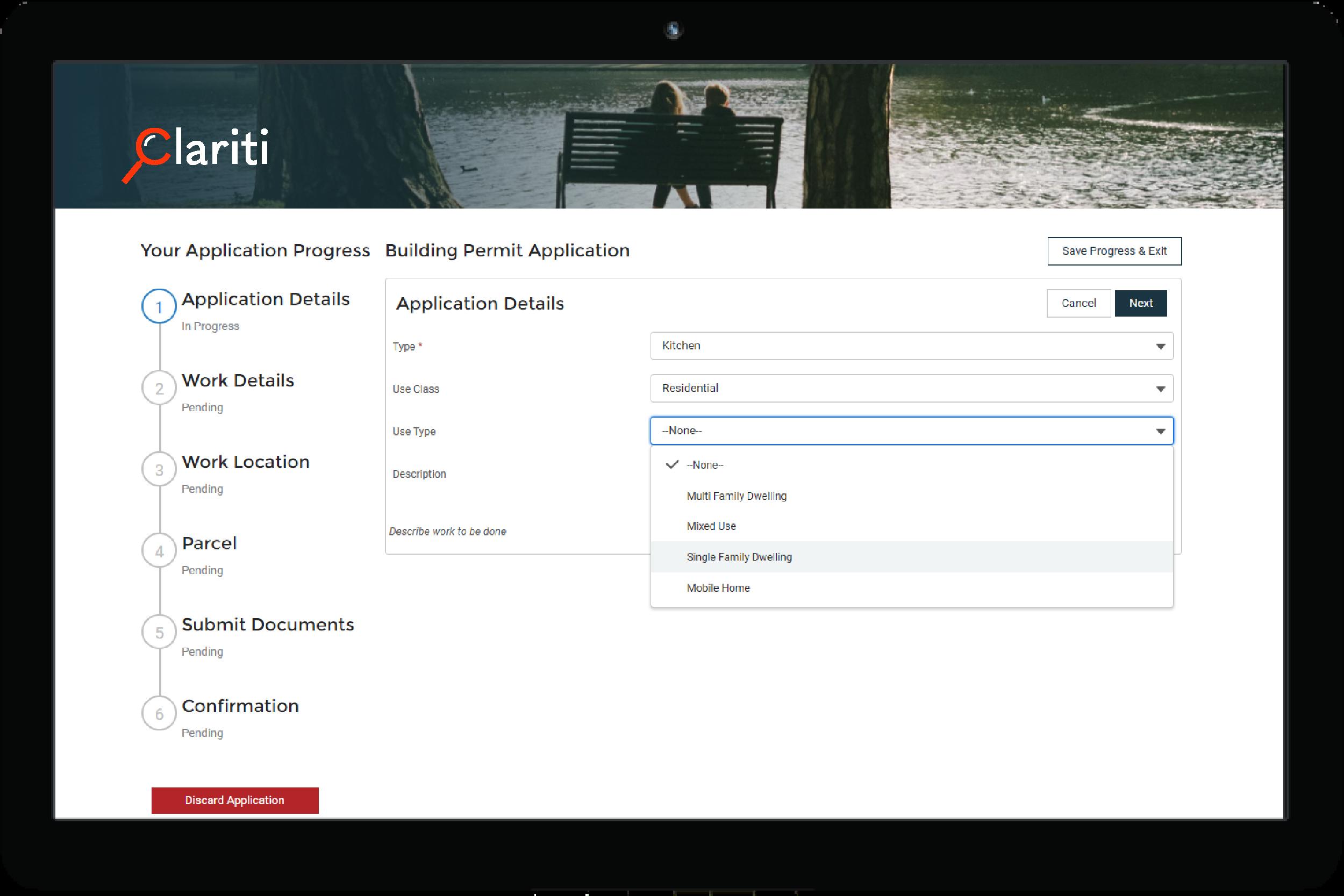 Clariti Building Permit Software